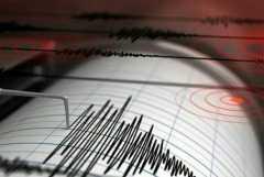 Gempa dengan magnitudo 5,3 terjadi di barat daya Malang